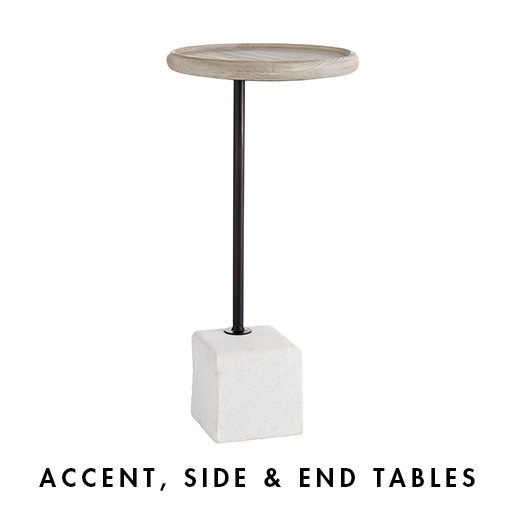 Accent, Side & End Tables
