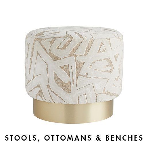 Stools, Ottomans & Benches