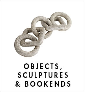 Objects, Sculptures & Bookends