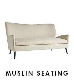 Muslin Seating