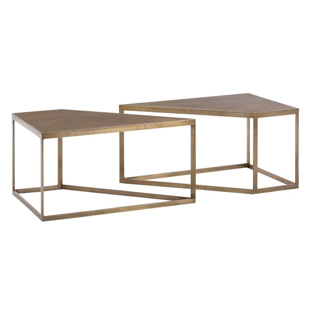 Austin Cocktail Tables, Set of 2