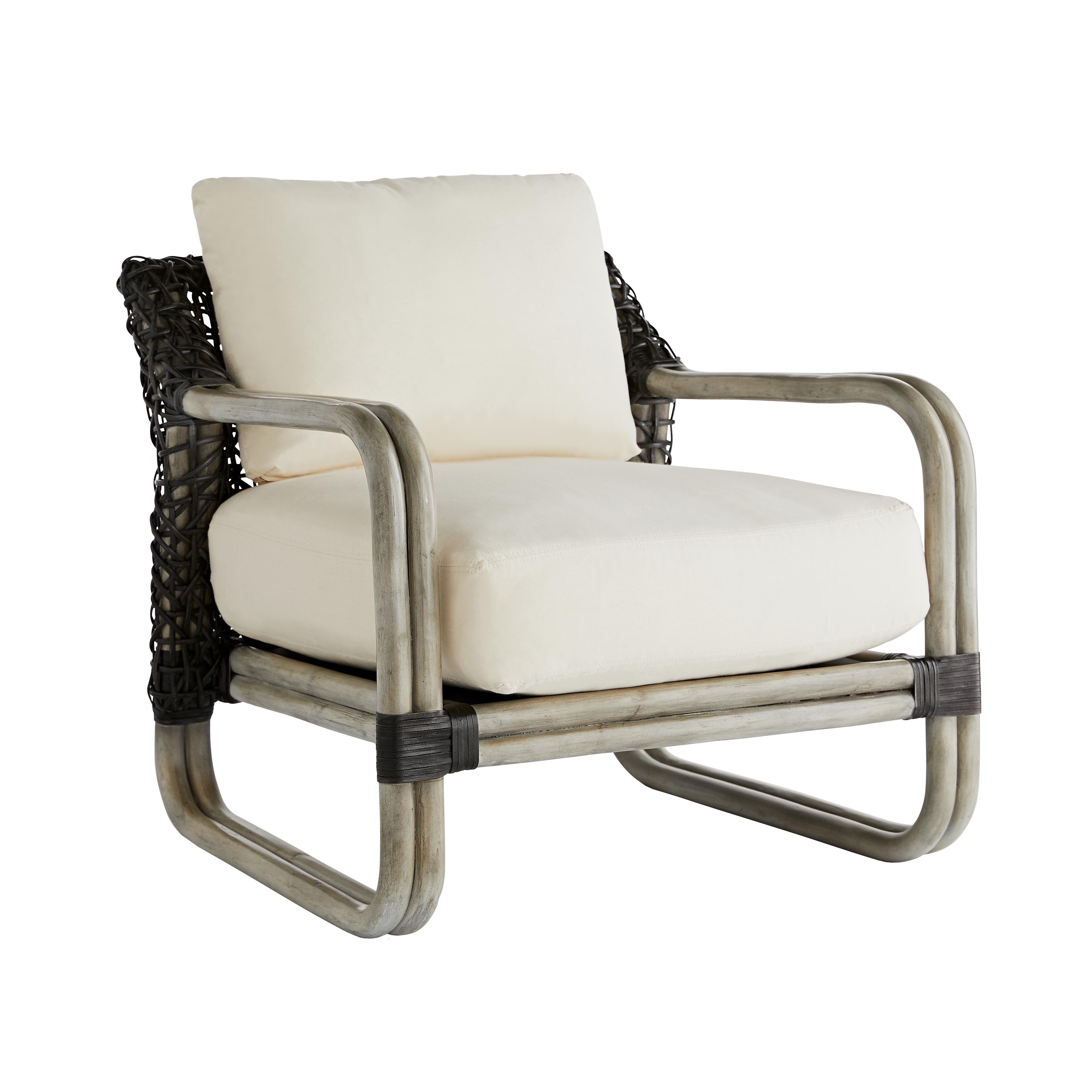Tara Lounge Chair Muslin