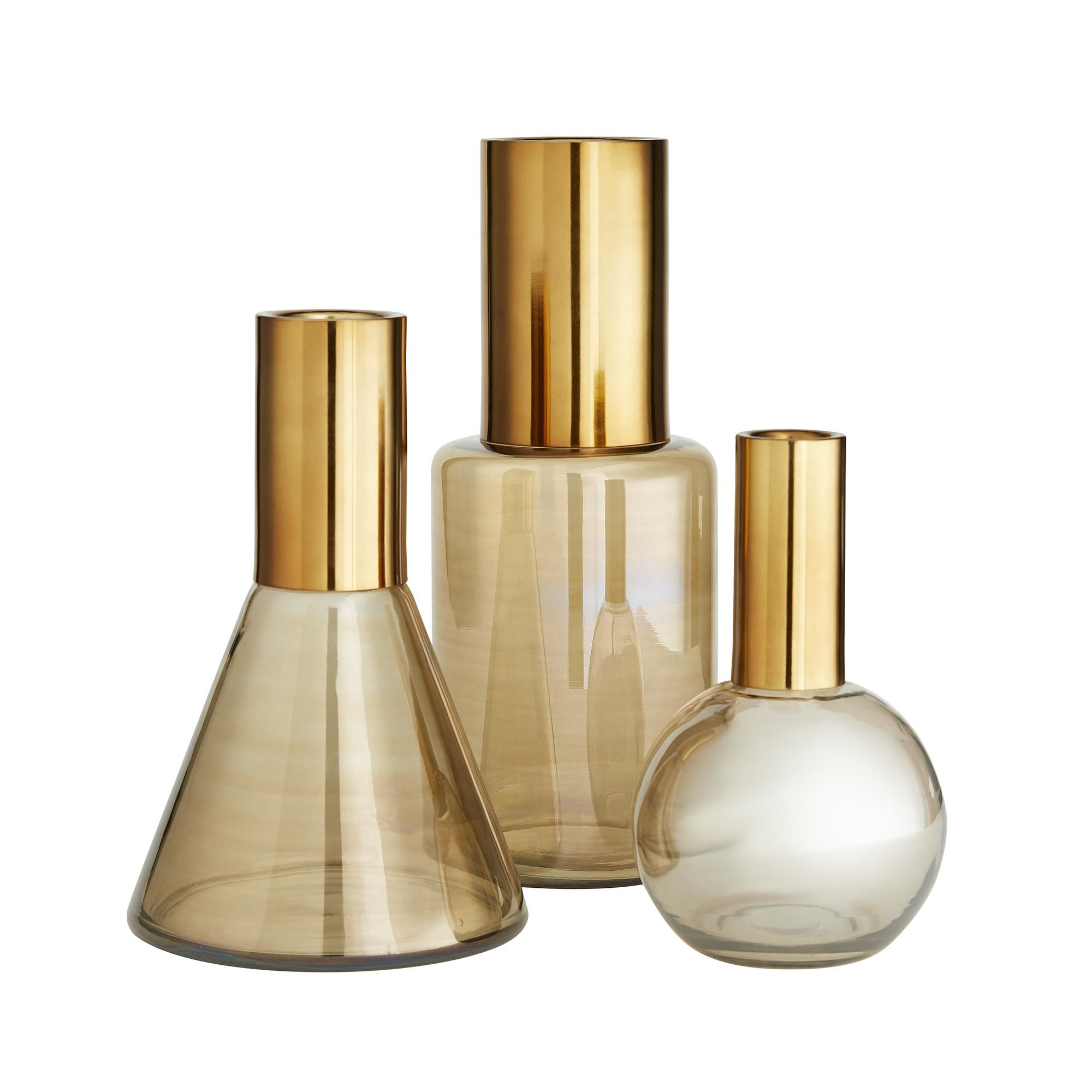 Union Vases, Set of 3
