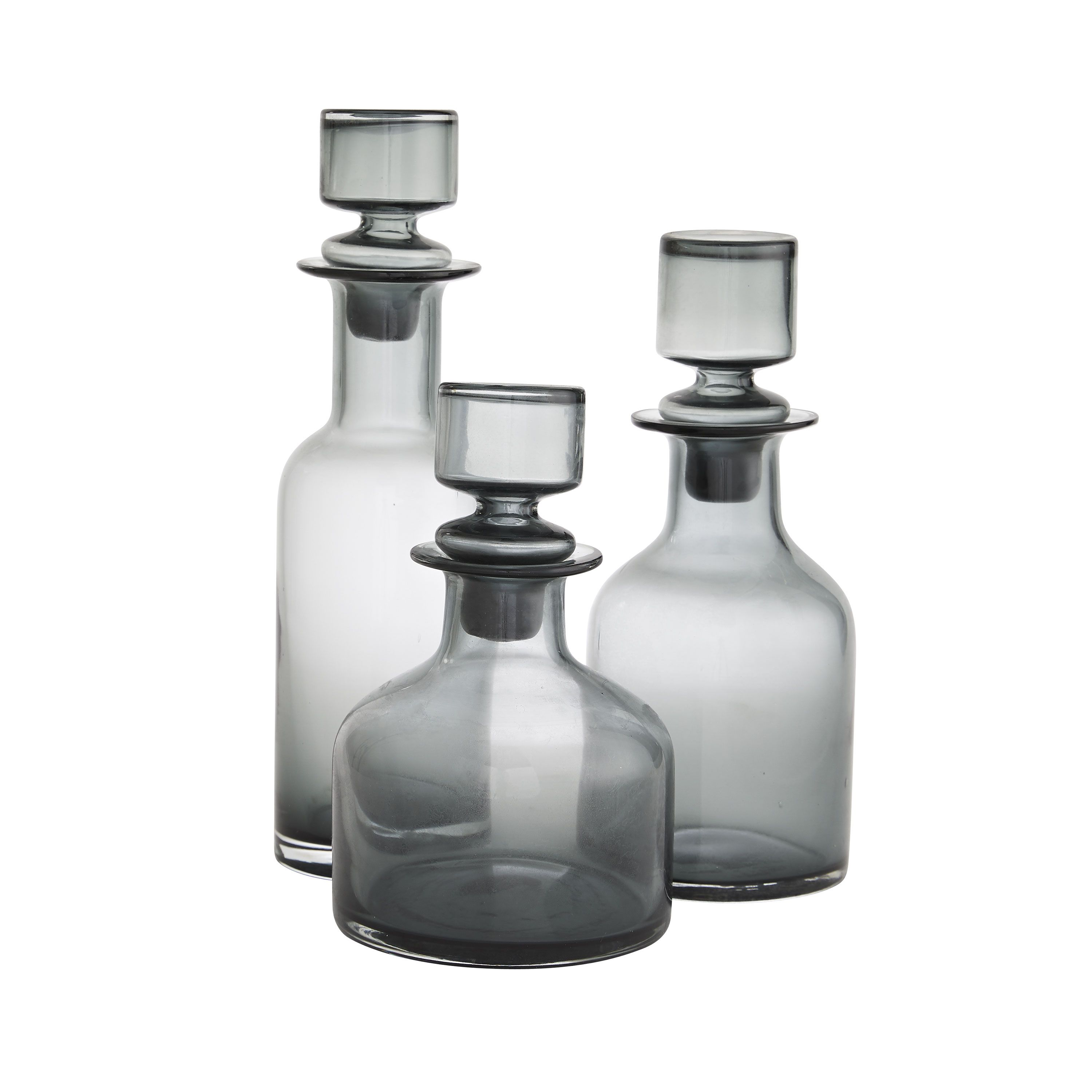 O\'Connor Decanters, Set of 3