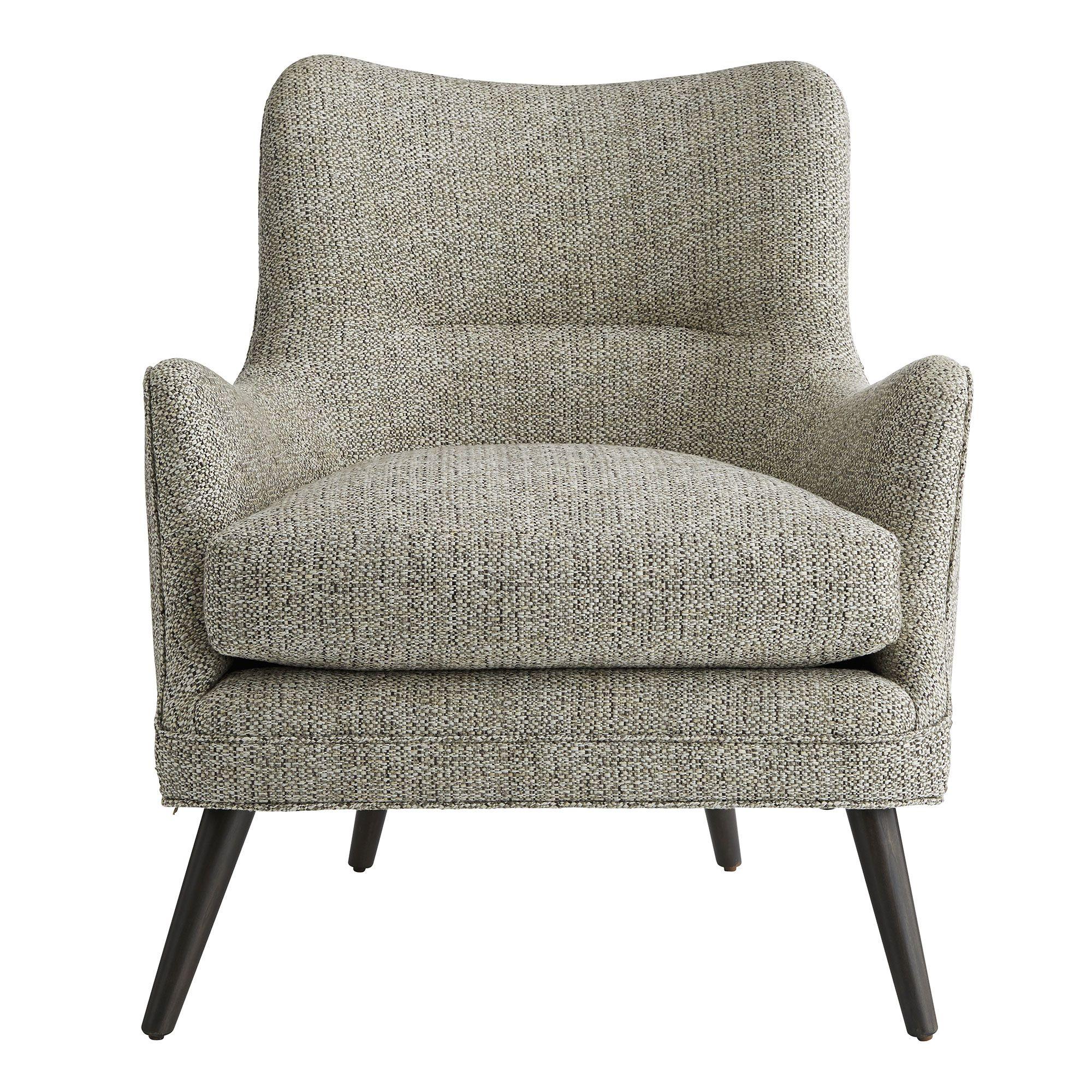 Seger Chair Driftwood Tweed Grey Ash