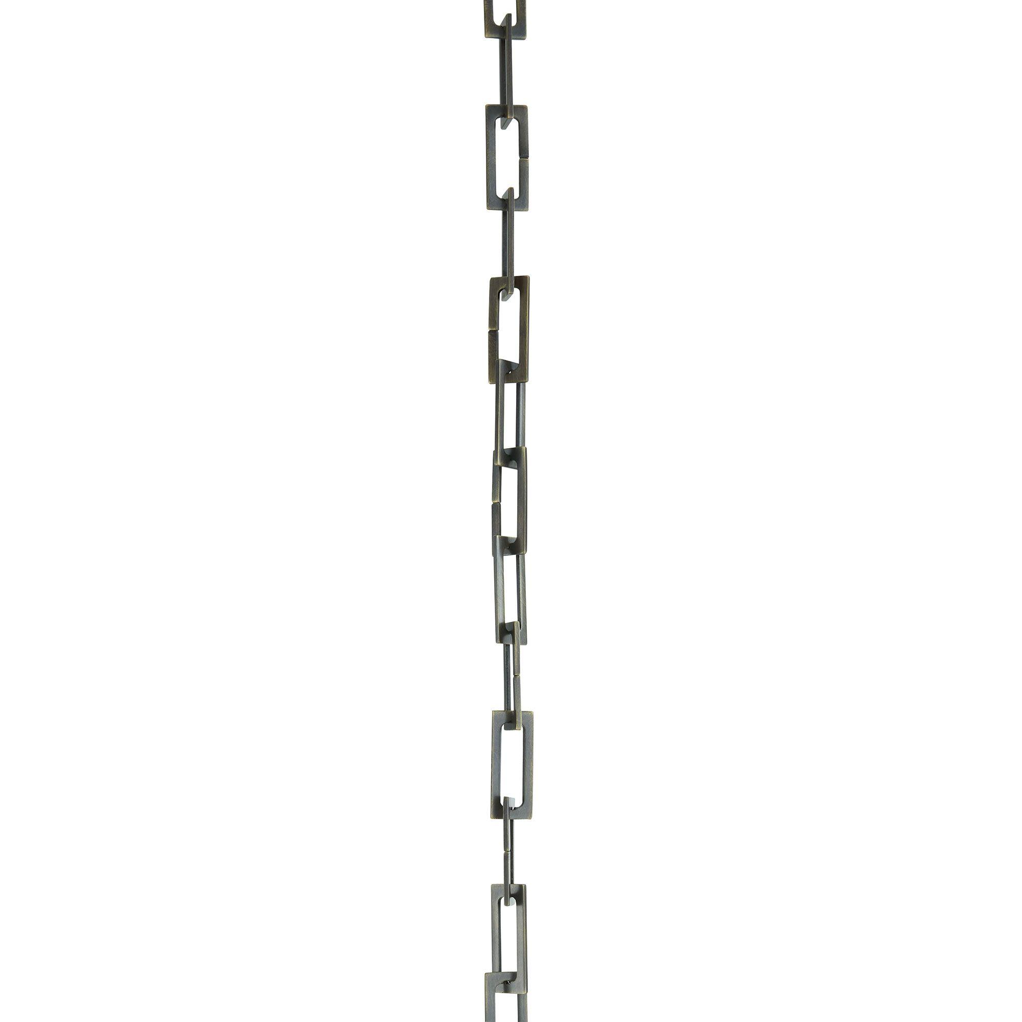 3\' Aged Bronze Chain