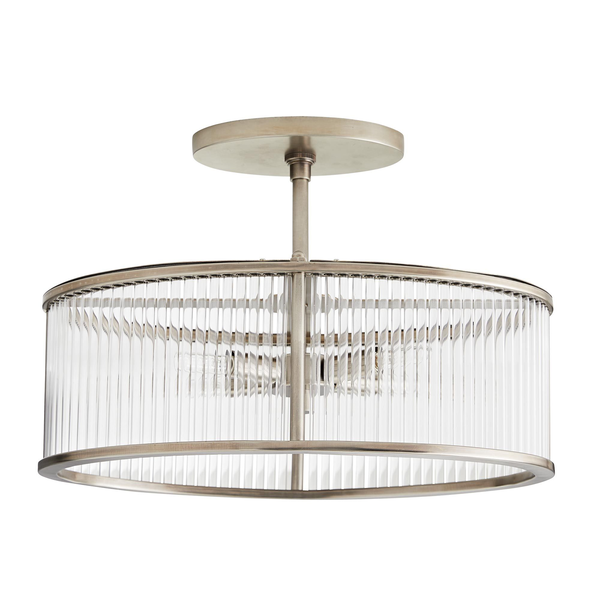 Hera Oval Flush Mount