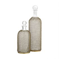 Drexel Decanters, Set of 2