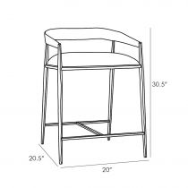 Ansel Counter Stool