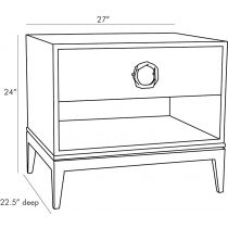 Fitz End Table
