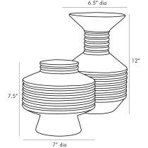 Alfredo Vases, Set of 2