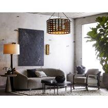 Turner Small Sofa Oyster Jacquard