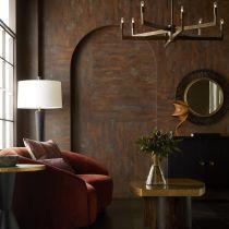 Turner Small Sofa Paprika Velvet