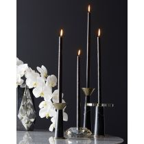 Violet Candle Holders, Set of 3