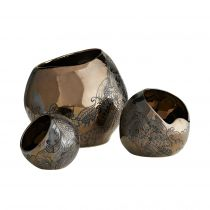Flint Containers, Set of 3