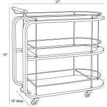Brays Bar Cart