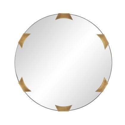 Kris Round Mirror