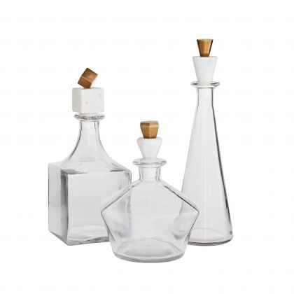 Wilshire Decanters, Set of 3