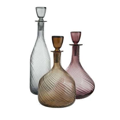 Stella Decanters, Set of 3