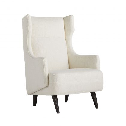 Budelli Wing Chair Cloud Boucle Grey Ash