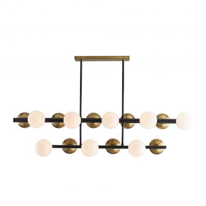 Wahlburg Two Tiered Chandelier