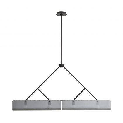 Bend Linear Chandelier