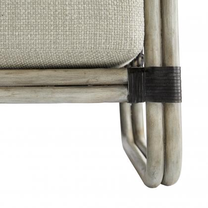 Tara Lounge Chair Fog Basketweave