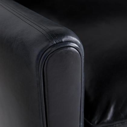 Vincent Sofa Ink Leather