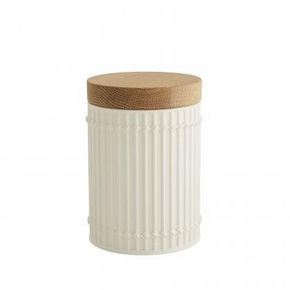 Palm Canisters, Set of 3